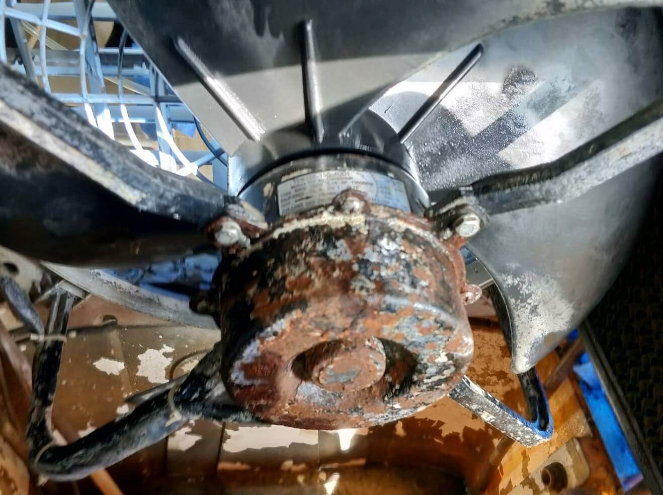 工業水冷扇無保養生鏽